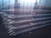 Забивные стальные сваи изготовленные из электросварной трубы ГОСТ 10705